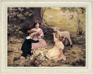 The Joy of Spring Victorian Art Print